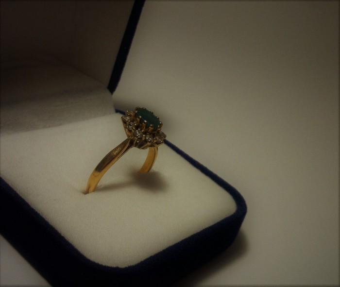 Zlatni Prsten Smaragd