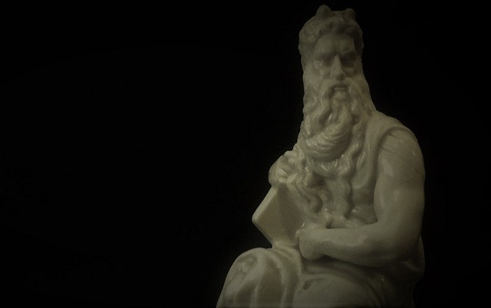 Skulptura Mojsija